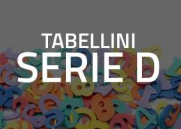 Tabellini Serie D