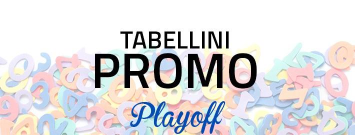 Tabellini Playoff Promozione
