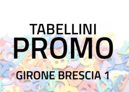 Tabellini Promozione Brescia 1