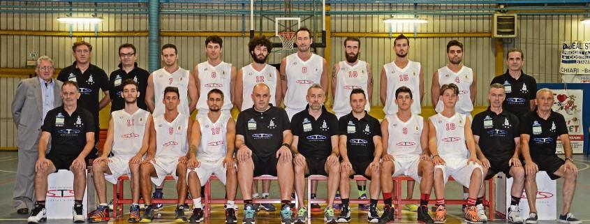 Basket Chiari - Serie D - 2015/2016