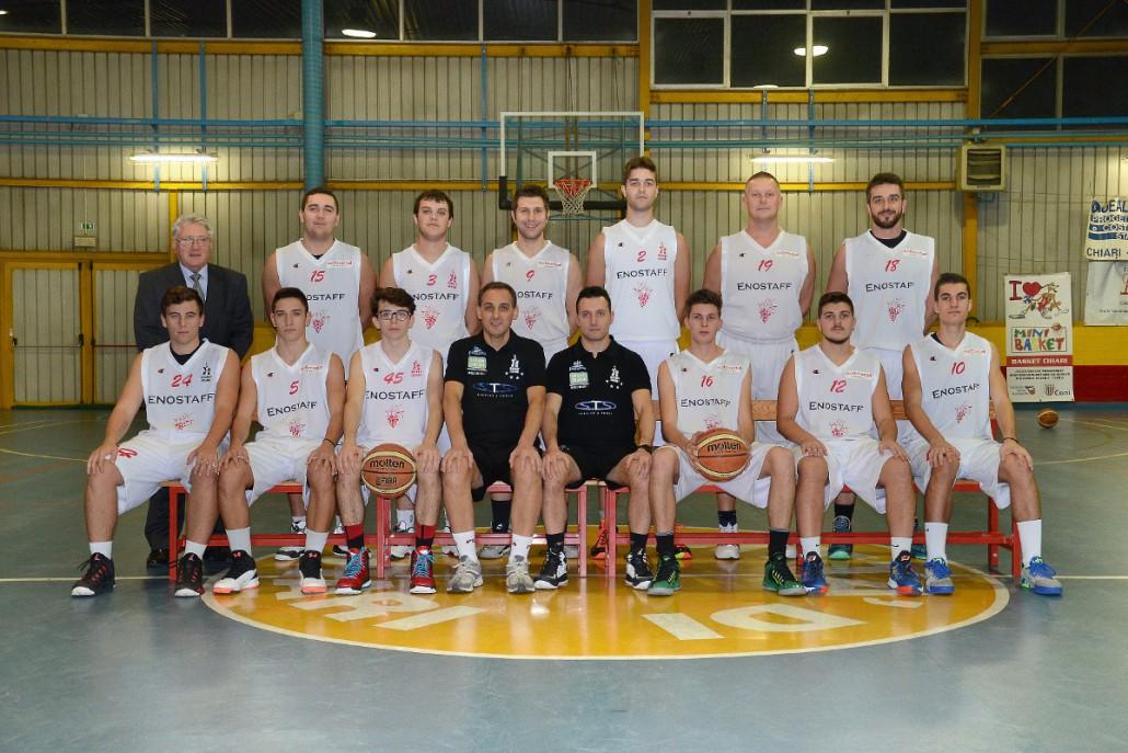 Basket Chiari - Prima Divisione - 2015/2016