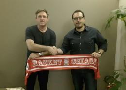 Diego Piceni con il nuovo coach Alessandro Tusa