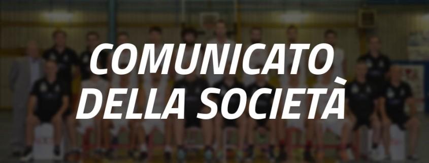 Comunicato Società Basket Chiari
