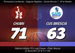 Chiari-CUS Brescia