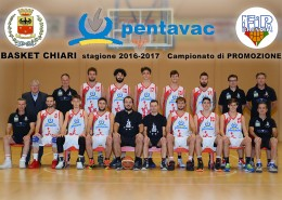 Basket Chiari 2016/2017