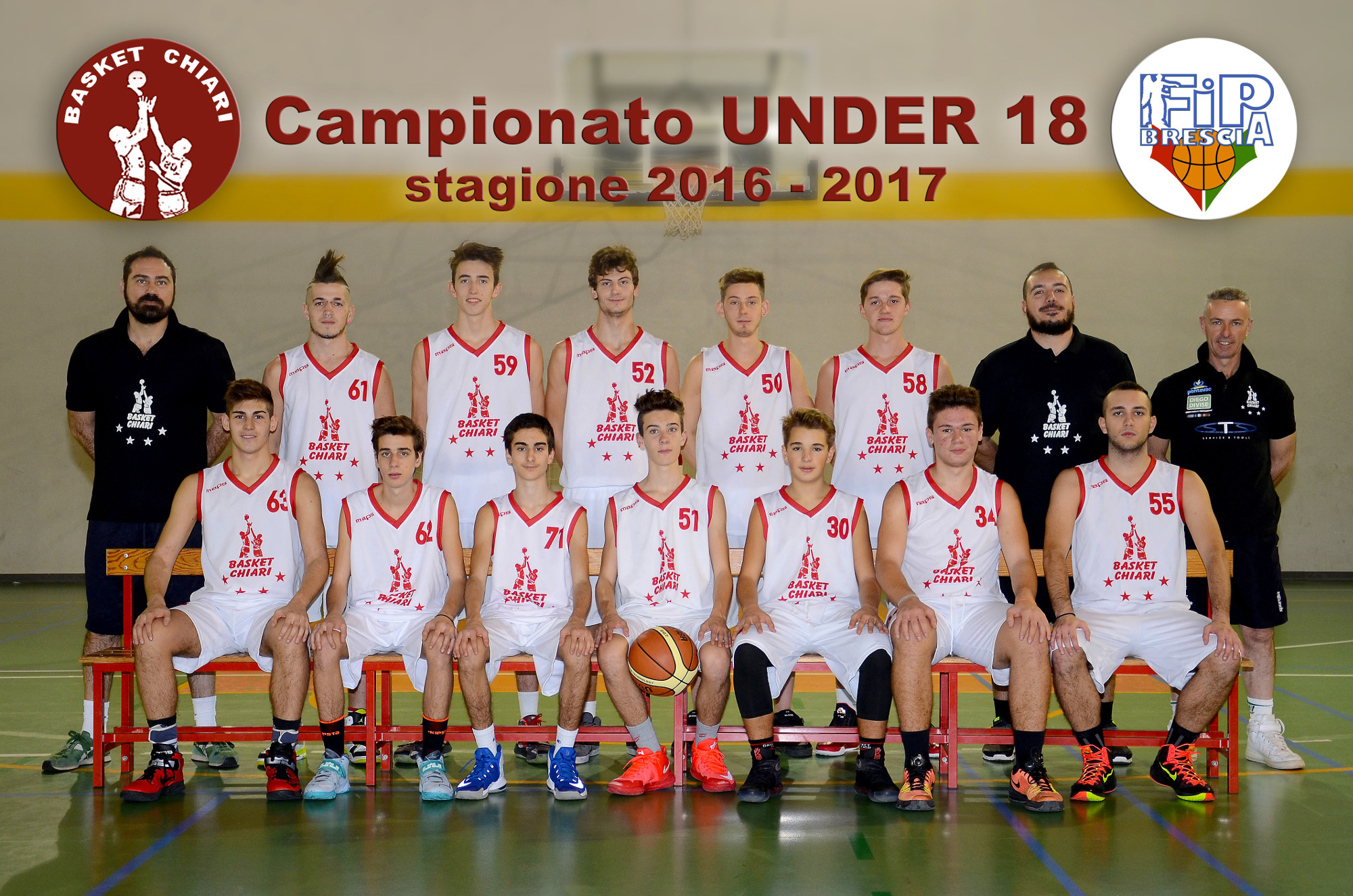 Basket Chiari - Under 18 - 20165/2017
