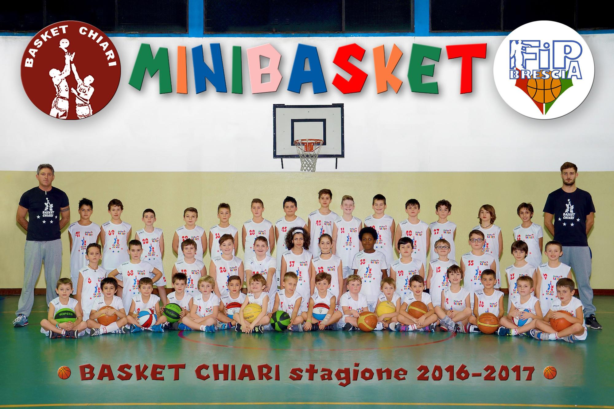 Basket Chiari - Minibasket - 20165/2017