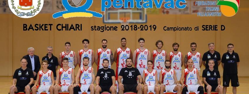Basket Chiari 2018-2019 - Serie D
